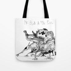 Mc Blob a ma Puss Tote Bag