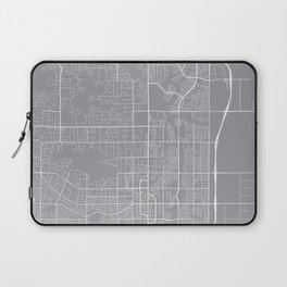 Scottsdale Map, Arizona USA - Pewter Laptop Sleeve