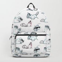 Coon Comic Pattern Backpack