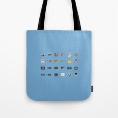 8-BIT Retro Console & Game Tote Bag