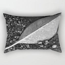 Yellow Leaf on Dirt (El Salvador) Rectangular Pillow