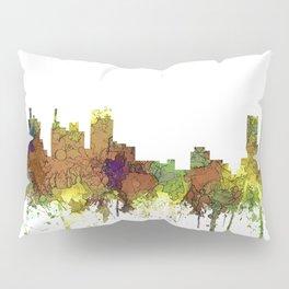 Detroit, Michigan Skyline SG - Spring Buff Pillow Sham