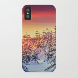 Relax Sky iPhone Case