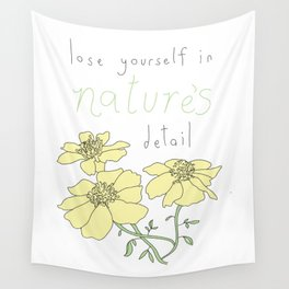 Nature's Detail Wall Tapestry