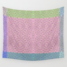 1806 Pastel pattern Wall Tapestry