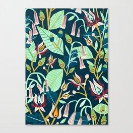 Folk Forest Canvas Print