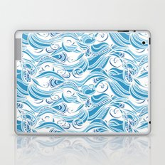 Boho Stylized Wave Pattern Laptop & iPad Skin