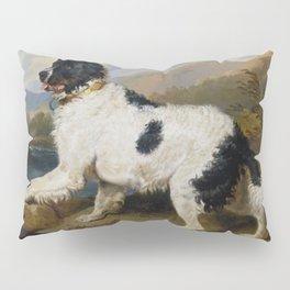 Edwin Landseer -  Lion A Newfoundland Dog Pillow Sham