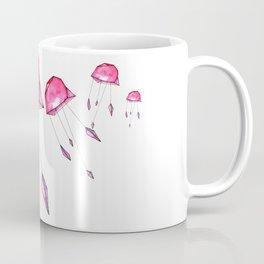 Geometric jellyfish Coffee Mug