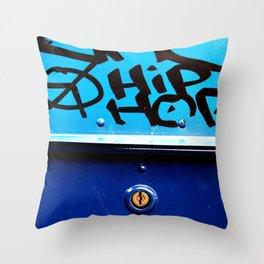 Hip Hop, Peace, Life Throw Pillow