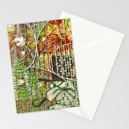 Crimson Petal's Lying Decay Stationery Cards