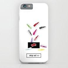 slippers ad Slim Case iPhone 6s