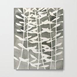 Plant Pattern #2 Metal Print