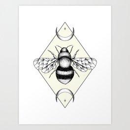 Bee Confident Art Print