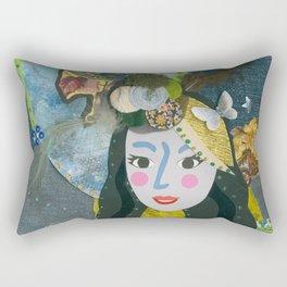 Paper Dollies - Freya Rectangular Pillow