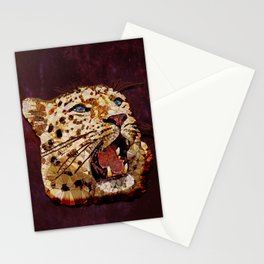 Abstract  gepard Stationery Cards