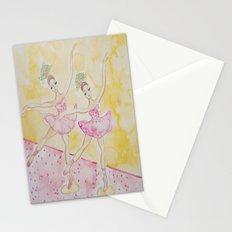 Cupcake Ballerinas Sprinkles Stationery Cards