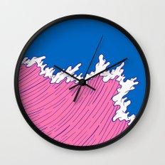 Sea Swell Wall Clock