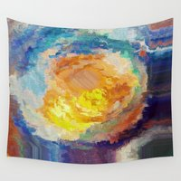 watercolour Wall Tapestries featuring WaterColour by MonsterBrown