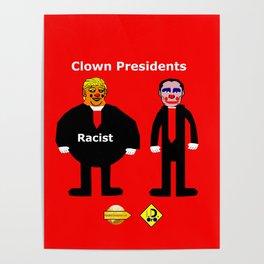 Clown Presidents Poster