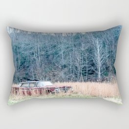 Left to Rust Rectangular Pillow
