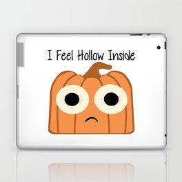 I Feel Hollow Inside Laptop & iPad Skin