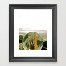 New York by the Sea Framed Art Print