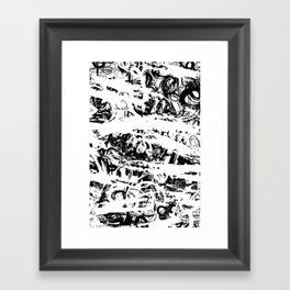 The Florest | Black and White Abstract Art | Art Prints Abstract Framed Art Print