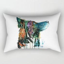 Husky - Anticipation Rectangular Pillow