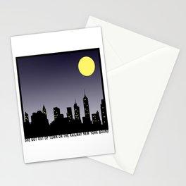Bright Lights | Matchbox 20 Inspired Lyric Art Print Stationery Cards