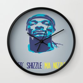 Snoop Dogg Poster Art Wall Clock