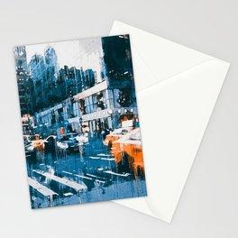 New York, Manhattan Panorama Stationery Cards