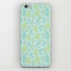 Floral Escape 3 iPhone & iPod Skin
