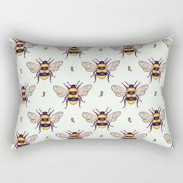 honey guards Rectangular Pillow