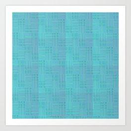 Interpretive Weaving (Scuba Doobie) Art Print