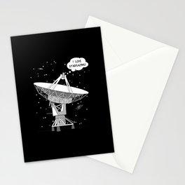 I love stargazing! Stationery Cards