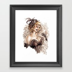 Burlesque Framed Art Print