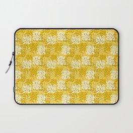 Swanky Mo Yellow Laptop Sleeve
