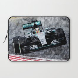 Lewis Hamilton 2015 Laptop Sleeve