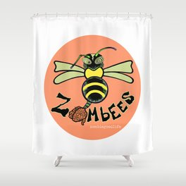 Zombee Shower Curtain