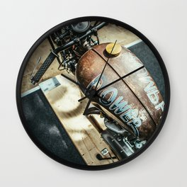 Power with Responsibility Wall Clock