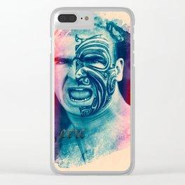 eric cantona Clear iPhone Case