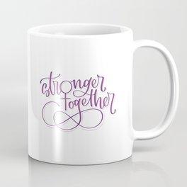 Stronger Together - Purple Coffee Mug