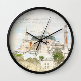 Hagia Sophia, Istanbul Wall Clock