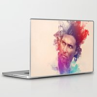 true detective Laptop & iPad Skins featuring True Detective by Pepe Psyche