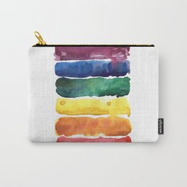 awesome rainbow watercolor Carry-All Pouch