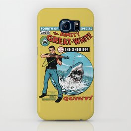 The Amity Great White iPhone Case