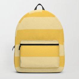 Sunshine Thick Horizontal Stripes Backpack