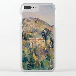 "Paul Cezanne ""View of the Domaine Saint-Joseph"" Clear iPhone Case"