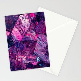 Labradorite Purple Stationery Cards